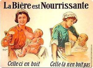 raving-squirrel-pub_vintage_femme-enceinte-biere-