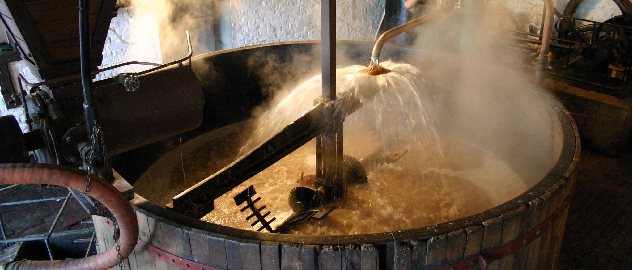 brasserie a vapeur